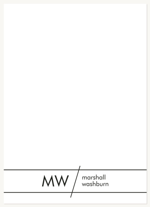 Clean Lines Stationery
