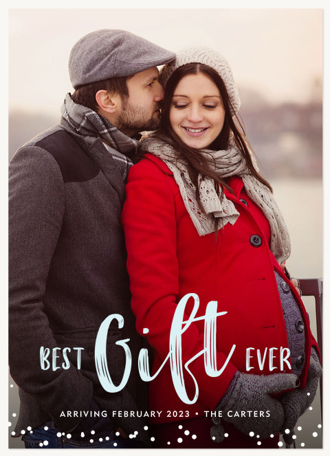 Best Gift  Personalized Holiday Cards