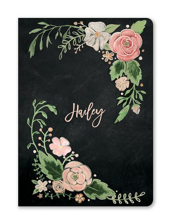 Floral Dreams Custom Journals