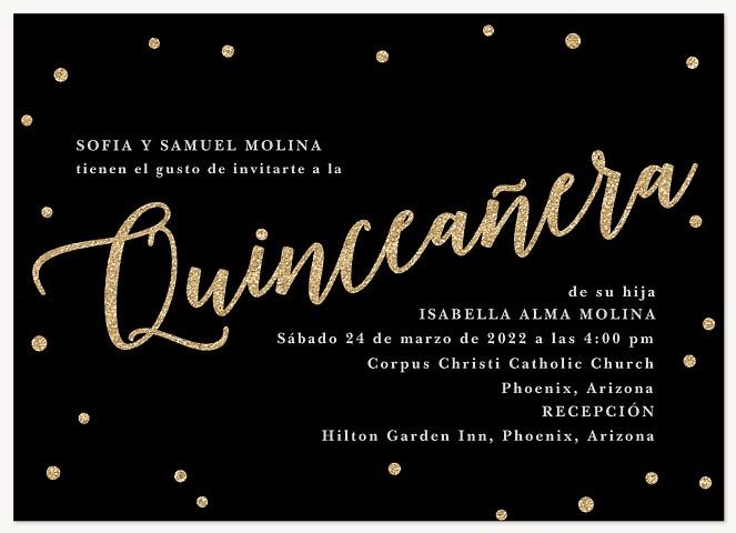 So Posh Quinceañera Invitations