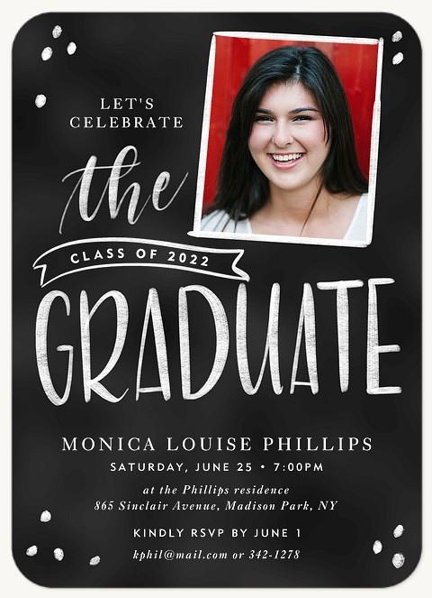 Chalk Banner Graduation