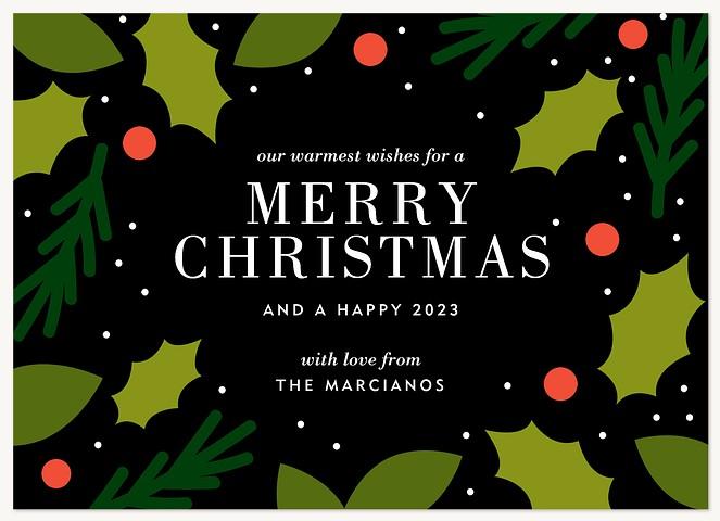 Festive Wonderland Personalized Holiday Cards