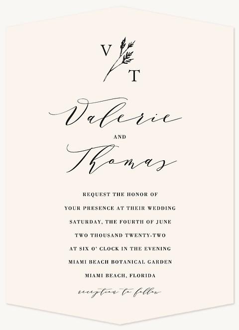 Poetic Wedding Invitations