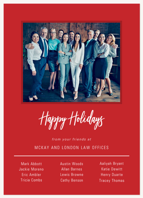 From All Of Us Business Holiday Cards