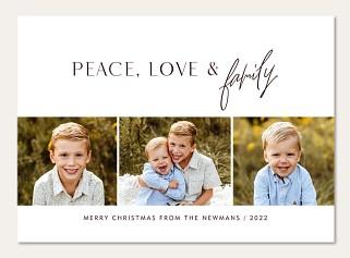 Peace, Love & Family
